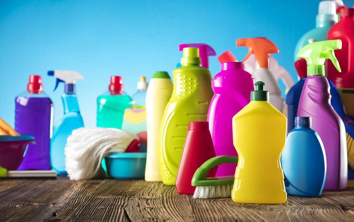 Моющие и чистящие средства бесплатно
